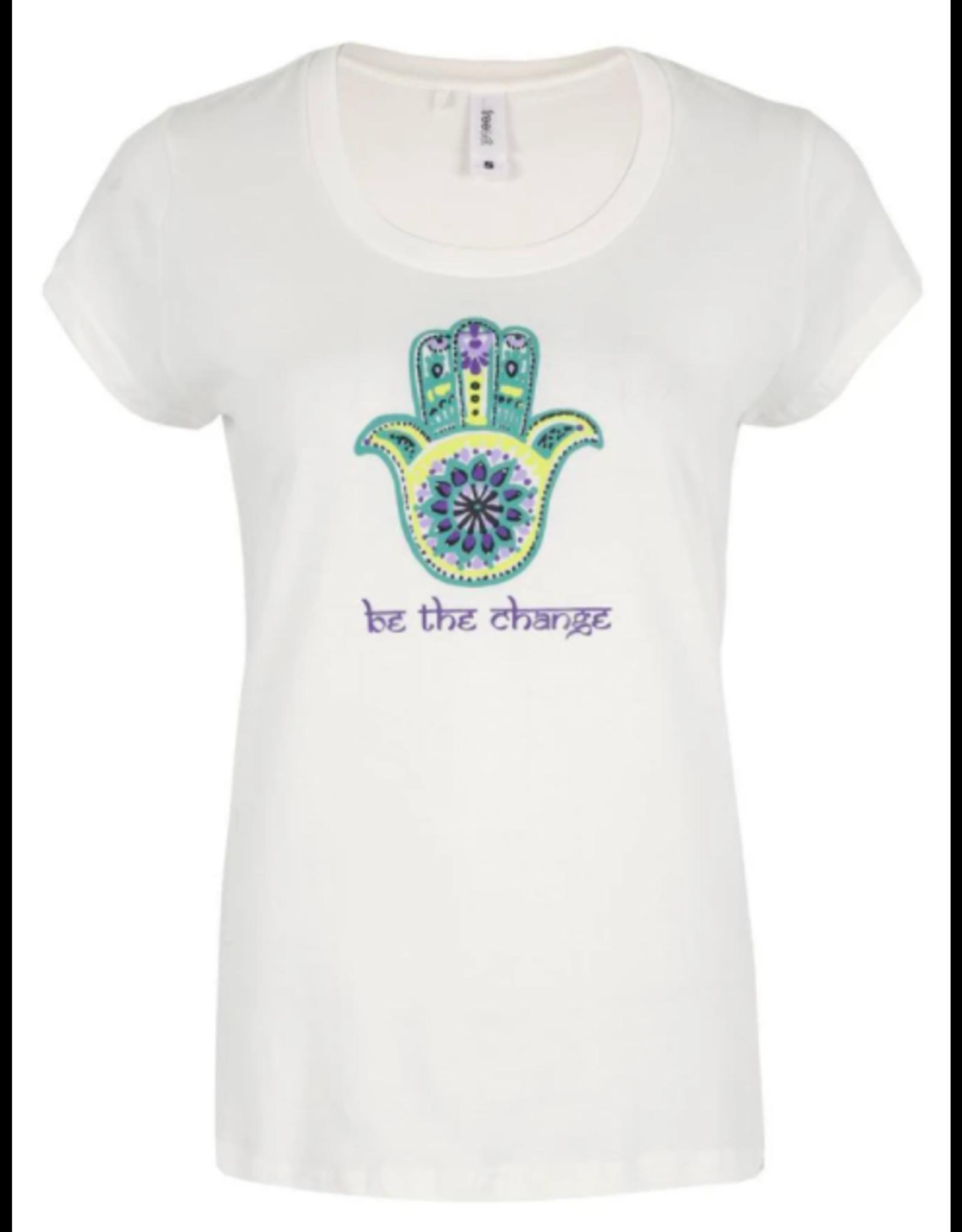 Be the Change Hamsa Tee