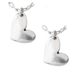 Funky Friends Heart Necklace, Set of 2, Thailand