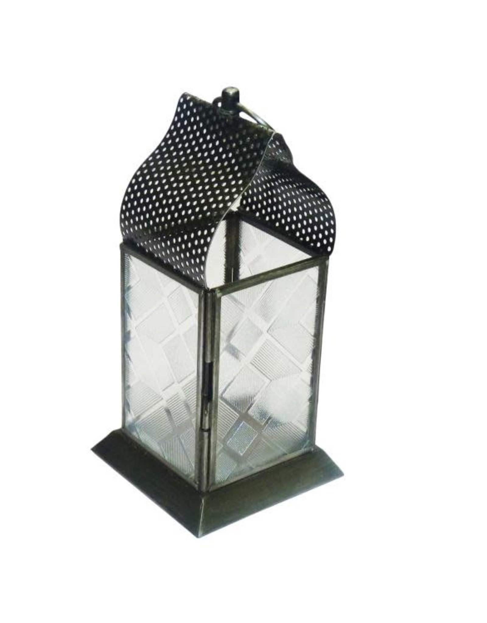 Small Table Top Lantern with Tea Light, India