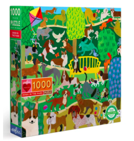Dogs in the Park Puzzle, 1000 Pieces