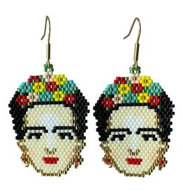 Frida Kahlo Earrings, Columbia