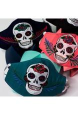 Sugar Skull Mask Surgical Style, Guatemala