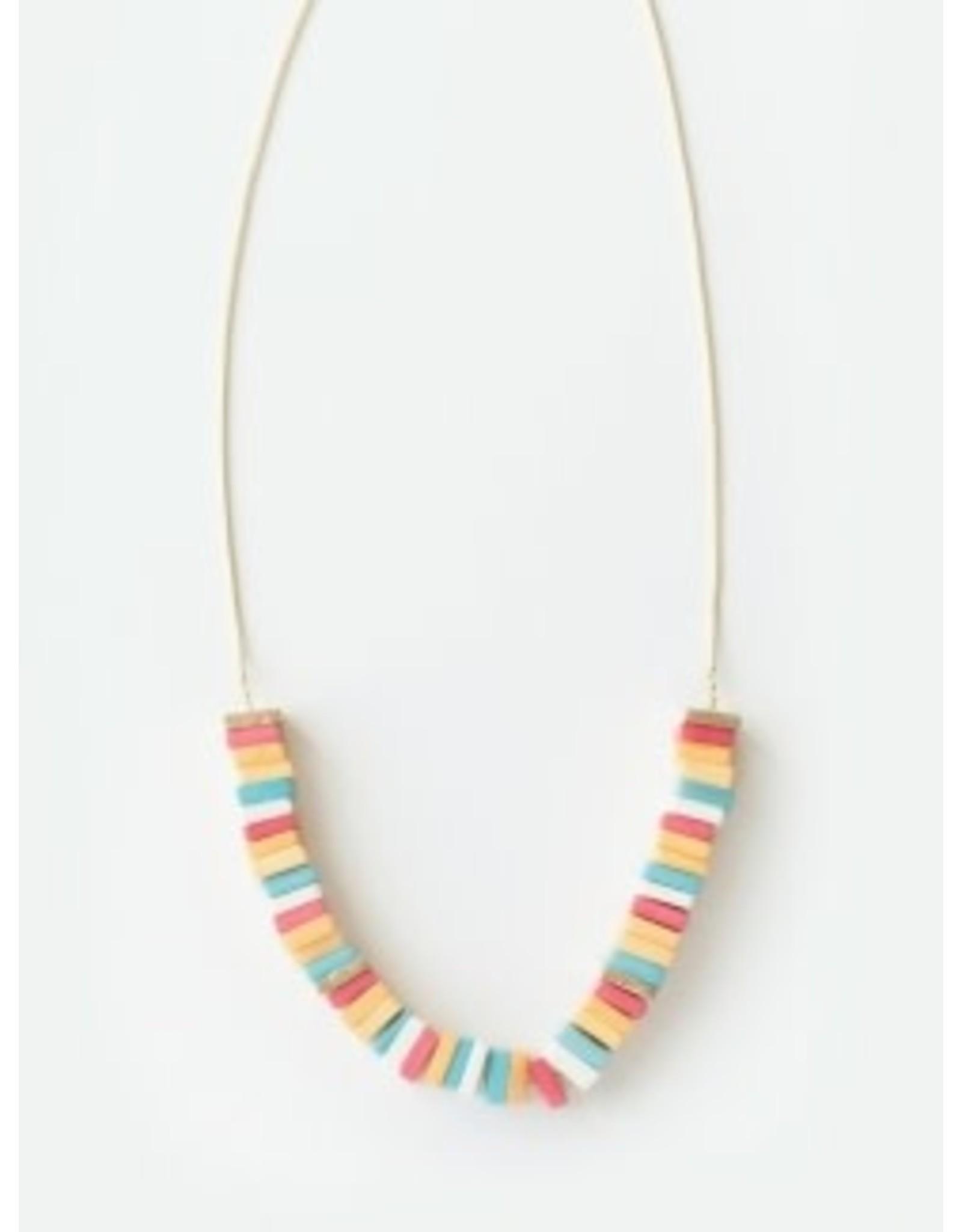 Coney Island Candy Rainbow Necklace, India