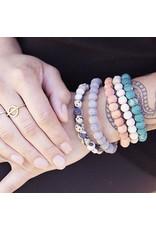 Kantha Chromatic Bracelet  Beige, India