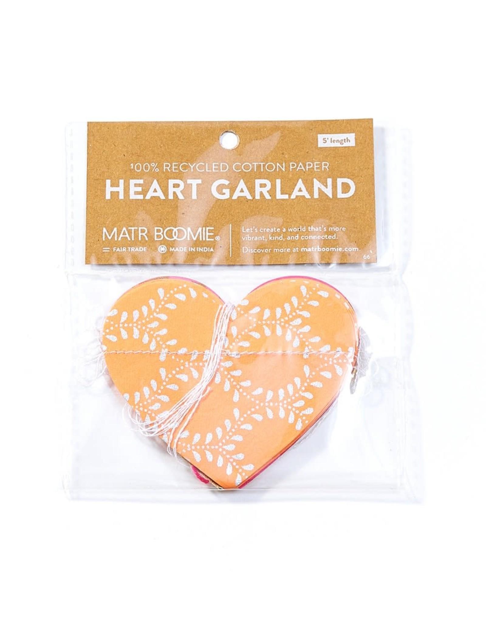 Heart Cotton Garland, India