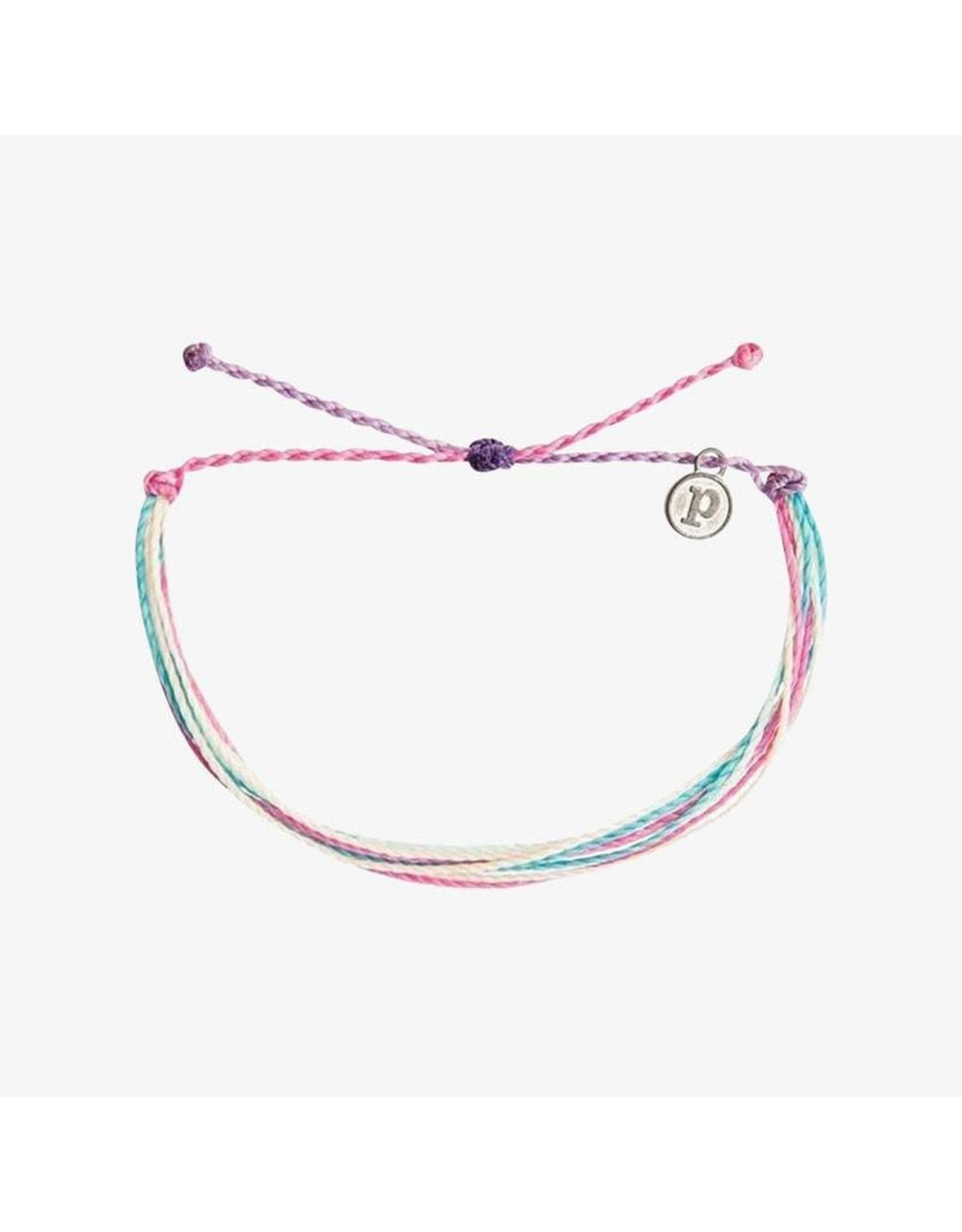 Pura Vida, Muted Original  Bracelet, Rose Quartz