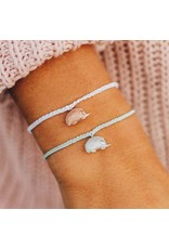 Pura Vida, Hedgehog Silver Bracelet Winter Fresh
