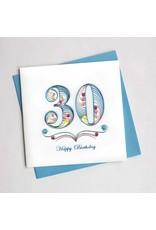 30th Birthday, Quilling Card, Vietnam
