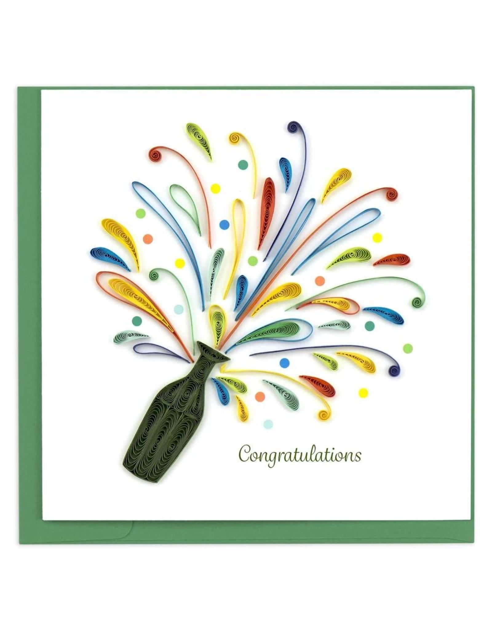 Celebration Congrats, Quilling Card, Vietnam