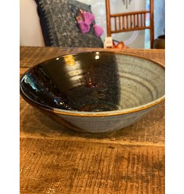 "Scott Kaye's  Ceramic Bowl, 8"" Diameter,  Local"