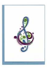 Musical Note, Quill Gift Enclosure, Vietnam