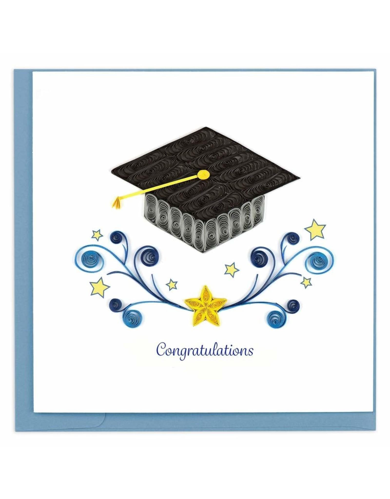 Graduation Congrats Quilling Card, Vietnam