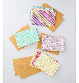 Eco Friendly Notecards, Set of 8, India