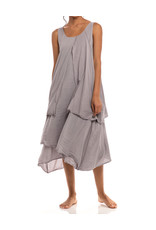 Electra Dress, One Size, Pewter, Thailand