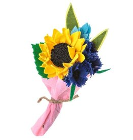 Petite Sunflower Bouquet, Kyrgyzstan
