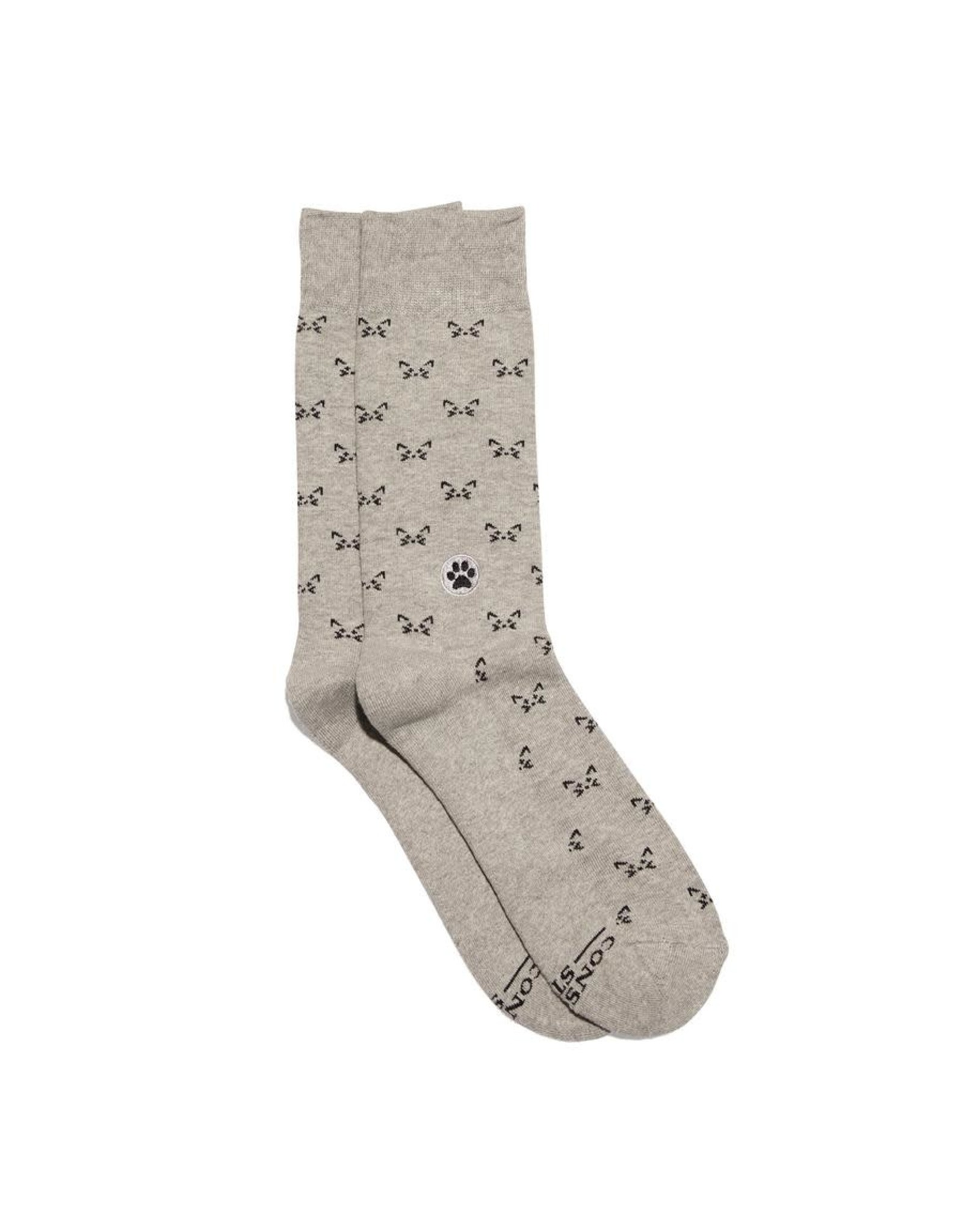 Socks That Save Cats, Gray
