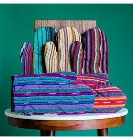 Striped Oven Mitt, Guatemala