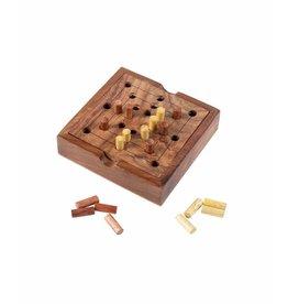 Nine Men's Morris Wood Game, India