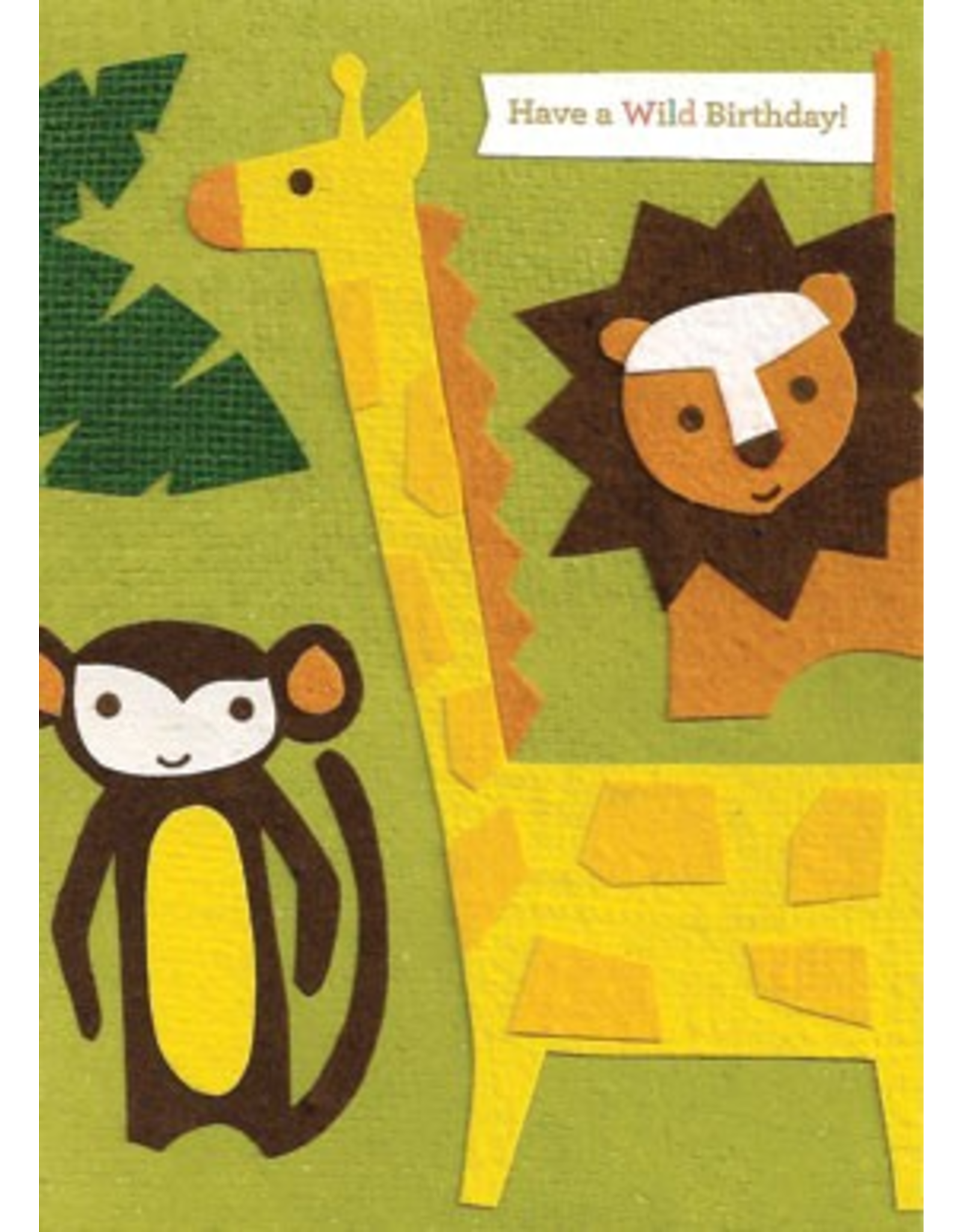 Wild Birthday Card, Rwanda