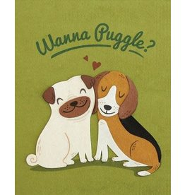 Good Paper Wanna Puggle Greeting Card, Philippines