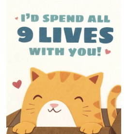Nine Lives Love Greeting Card, Philippines