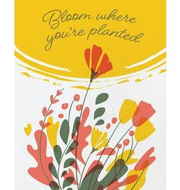 Good Paper Bloom Where You're Planted Greeting Card, Philippines