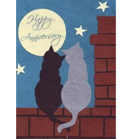 Anniversary Cats Card, Philippines