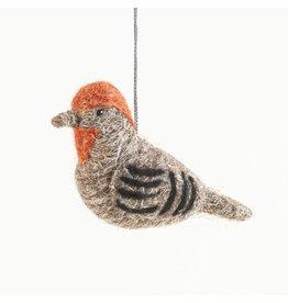 Felted Bird,  House Finch, Guatemala