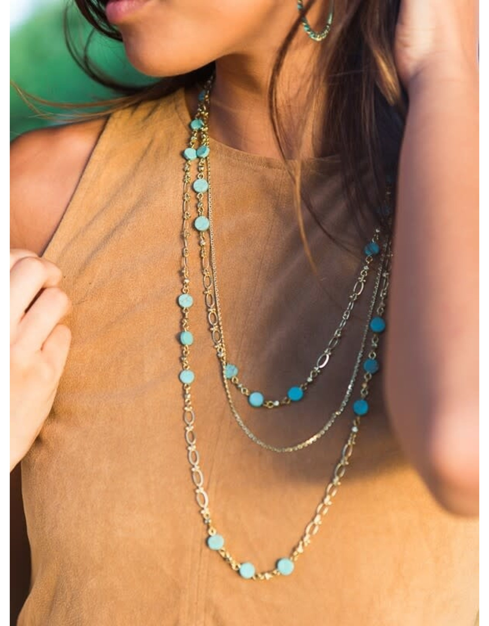 Synchronicity Multi Strand Necklace, India