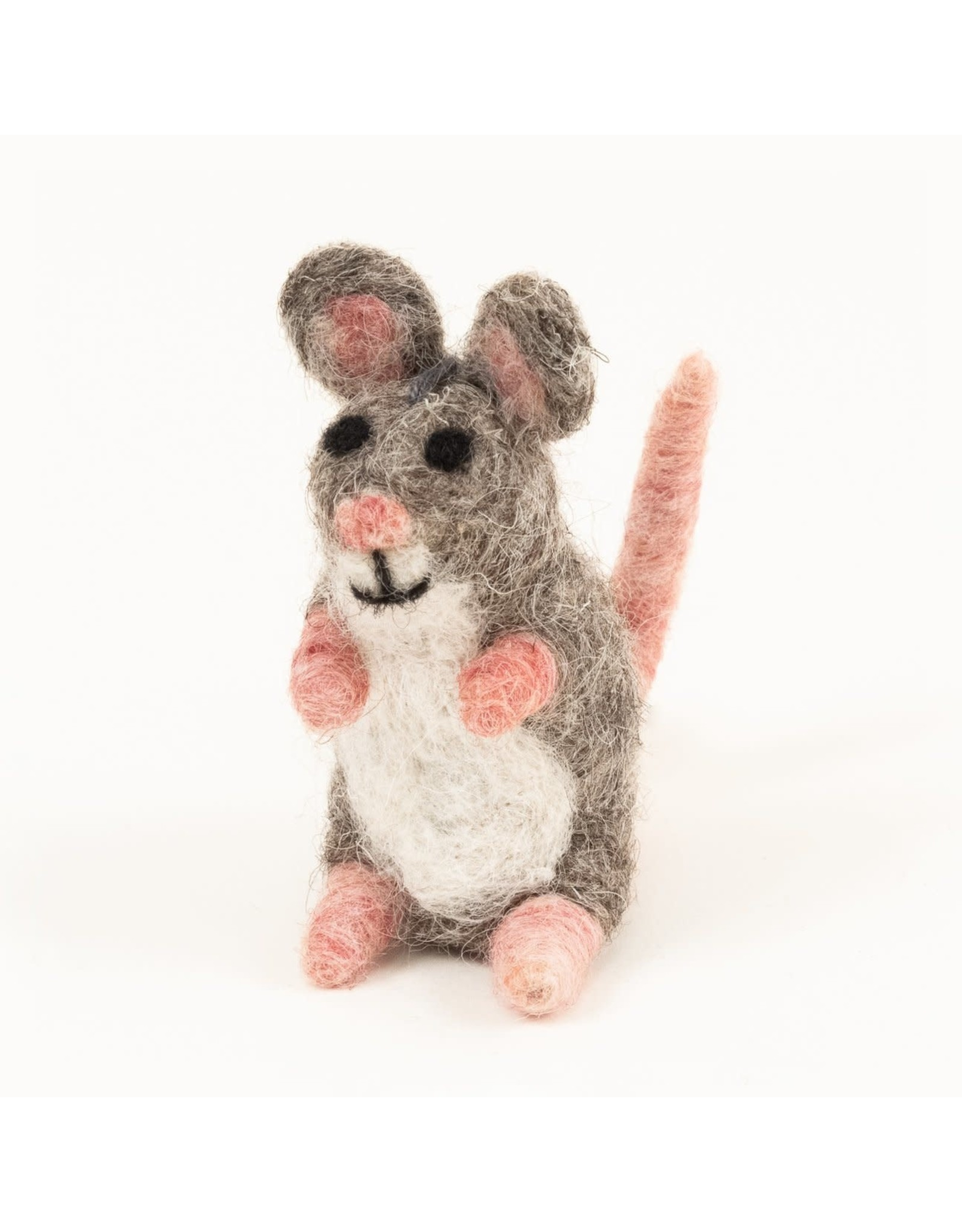 Felted Wool Mouse, Guatemala