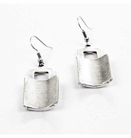 Troy Silver Plated Earrings, Turkey