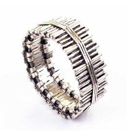 ASSOS Flexible Silver Plated Bracelet, Turkey