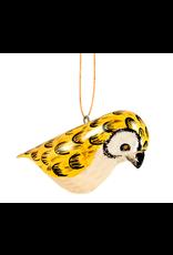 Owl, Wood Bird Ornament, Kenya