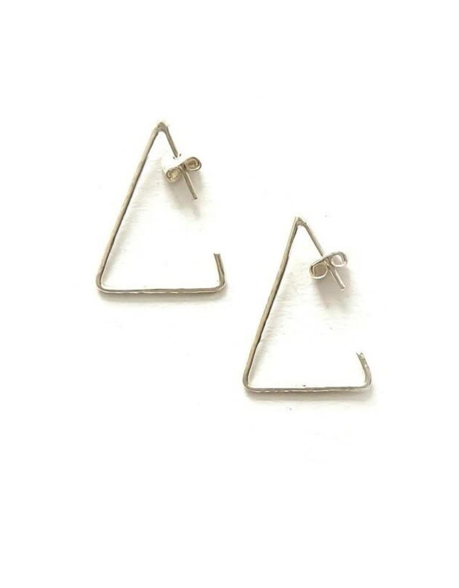 Triangle Sterling Hoops, Peru