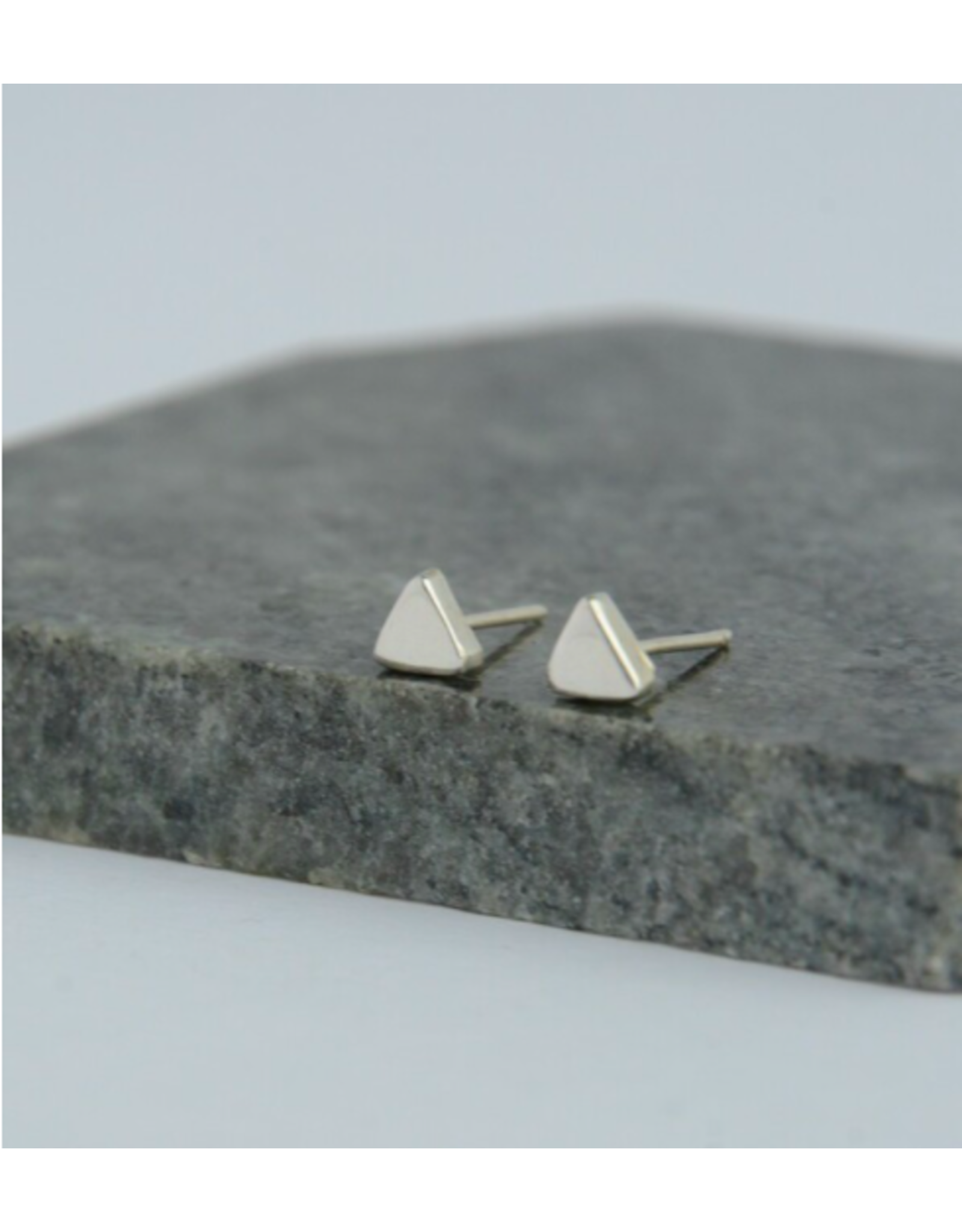 Tiny Triangle Sterling Studs, Mexico