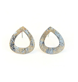 Tear Drop Painted Studs, India