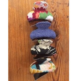 Squeeze Kimono Hair Clip, Medium, Japan