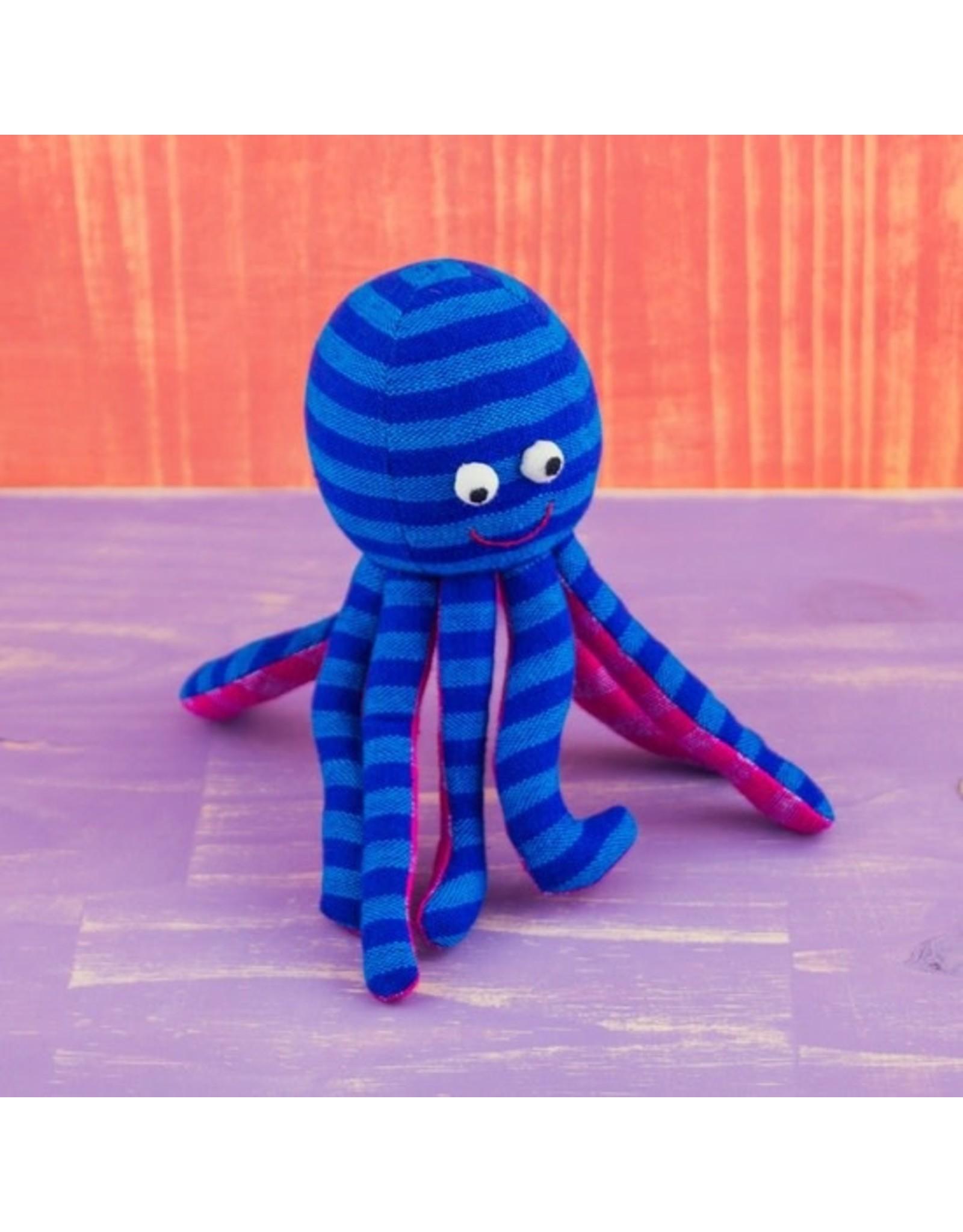 Mr. Ellie Pooh Fabric Plush Octopus, Sri Lanka