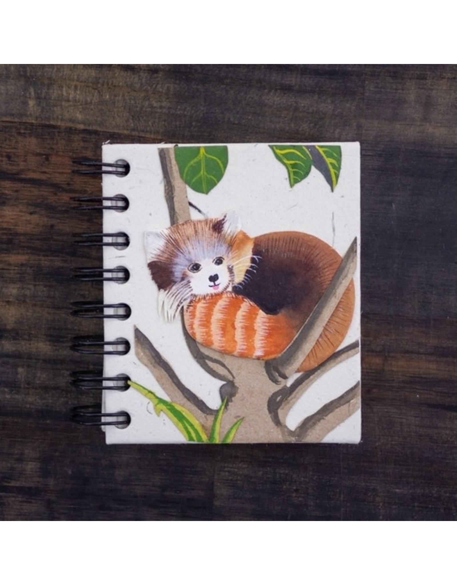 Mr. Ellie Pooh Small Notebook, Red Panda Natural White, Sri Lanka