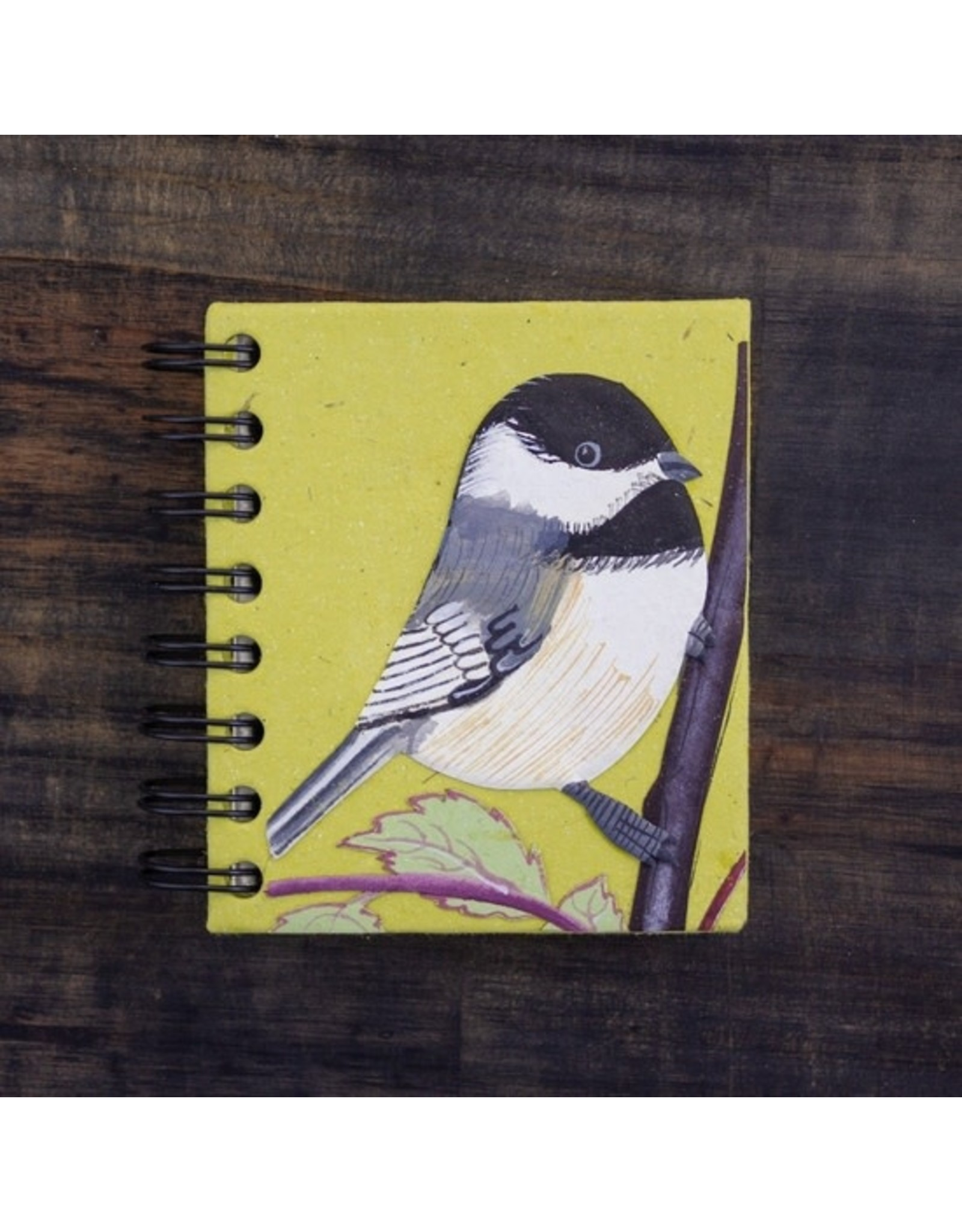 Mr. Ellie Pooh Small Notebook,Chickadee Light Green, Sri Lanka