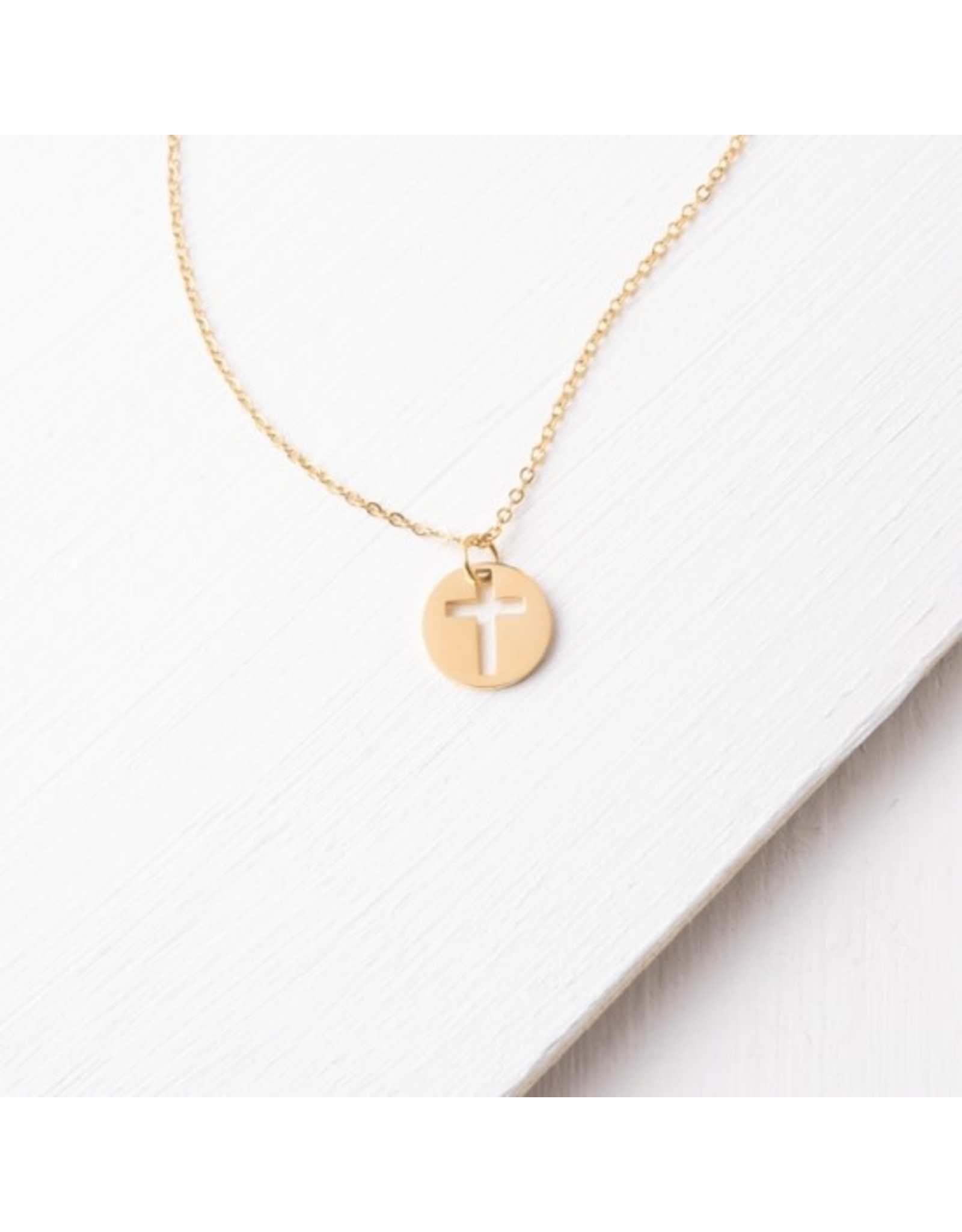 Carolyn Gold Cross Pendant Necklace, China