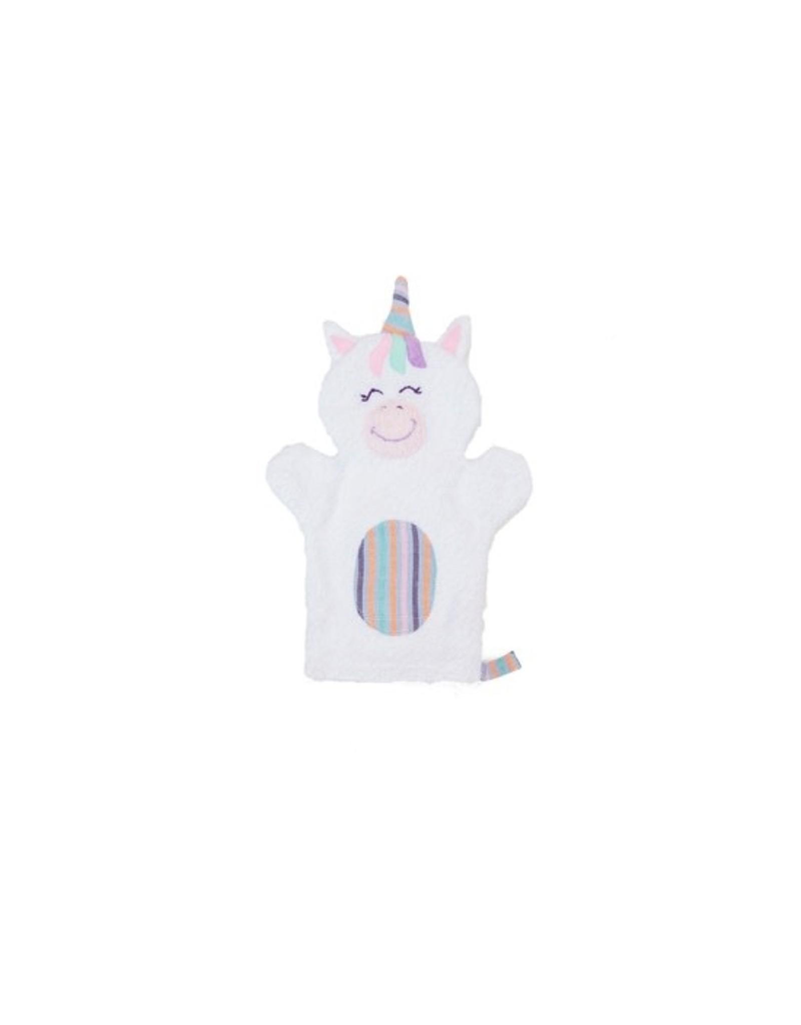 Unicorn Puppet Washcloth, Guatemala