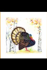 Wild Turkey Quilling Card, Vietnam