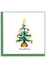 Polygonal Christmas Tree Quilling Card, Vietnam