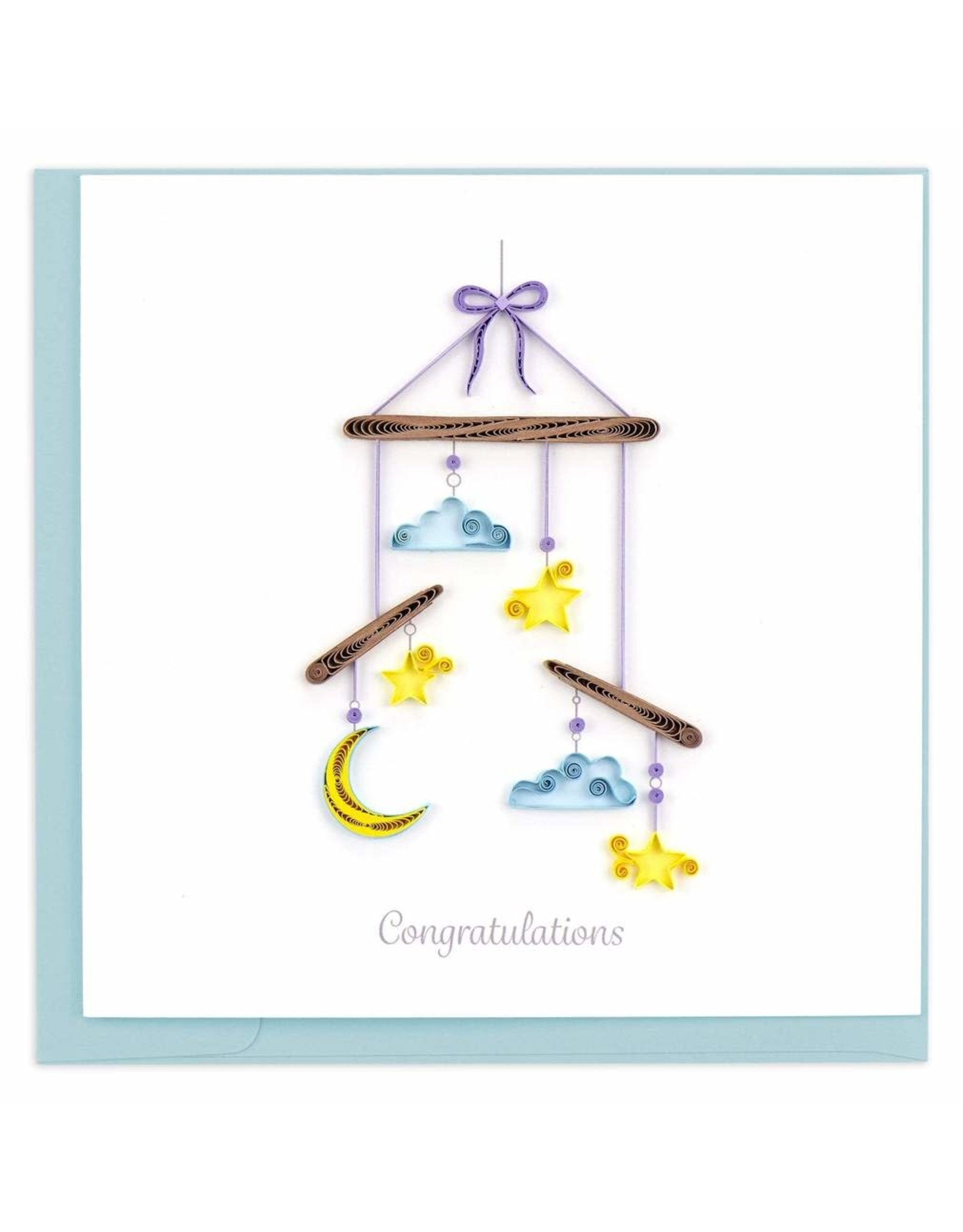 Night Sky Baby Mobile Quilling Card, Vietnam
