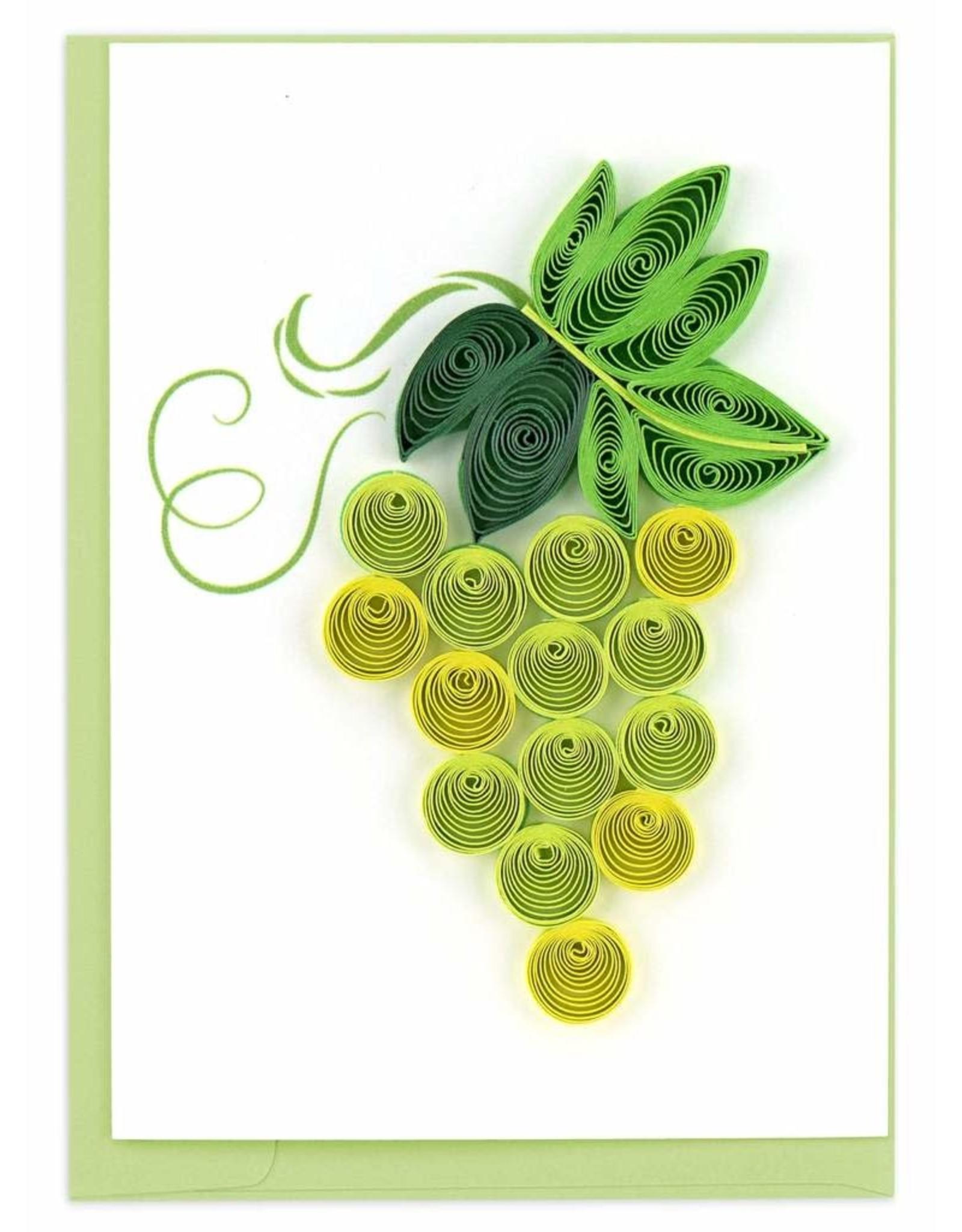 Green Grapes, Quill Gift Enclosure Card, Vietnam