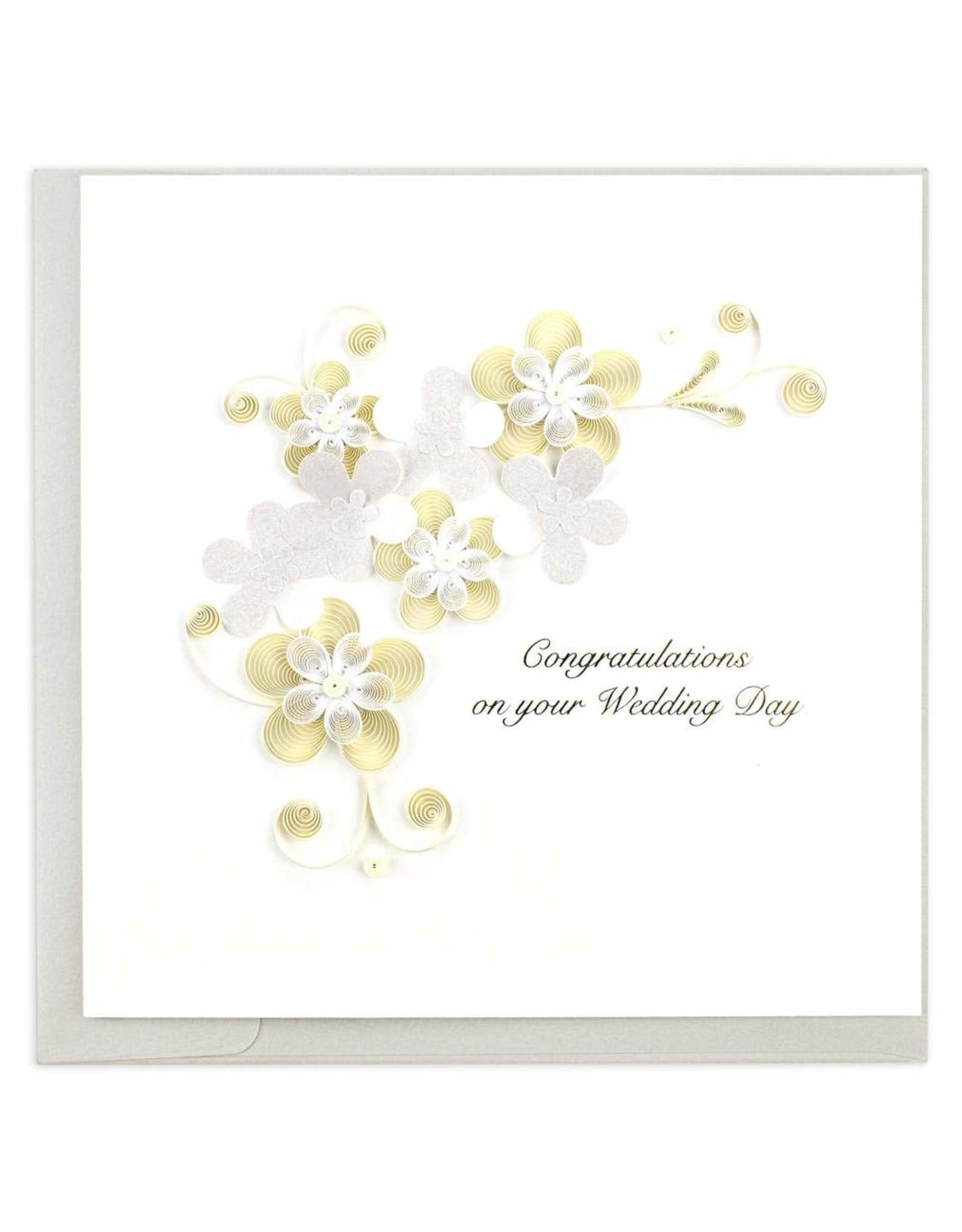 Floral Wedding Quilling Card, Vietnam