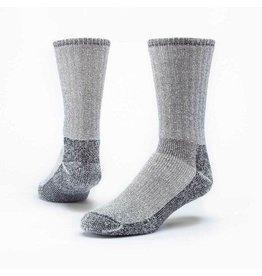 Mountain Hikers' Socks, Organic Wool, Black