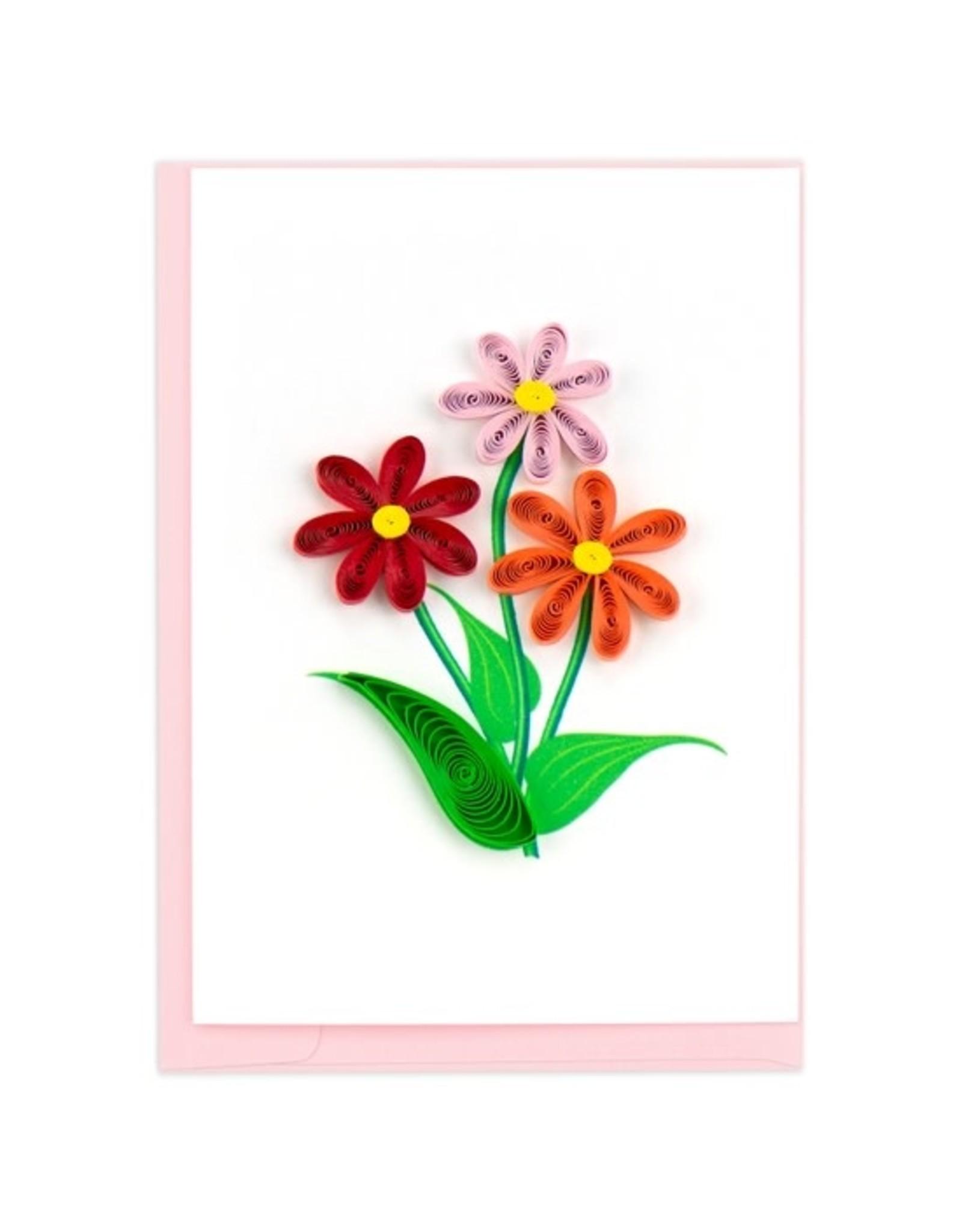 Daisy Gift Enclosure Card