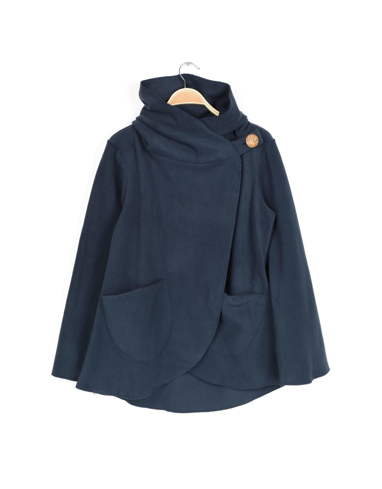 Fleece Jacket, Navy Blue